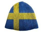 The Swedish flag — Foto Stock