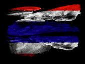The Thai flag — Stock Photo