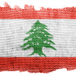 Lebanese flag — Stock Photo #23420286