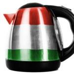 The Hungarian flag — Stock Photo
