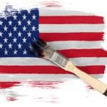 The USA flag — Stock Photo #23420590