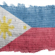 Philippine flag - Stock Photo