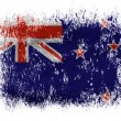 Stock Photo: New Zealand flag