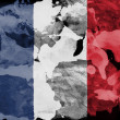 The French flag — Stock Photo #23422100