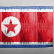 North Koreflag — Foto Stock #23422678