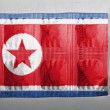 North Koreflag — Stockfoto #23422678