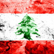 Lebanese flag — Stock Photo #23422728