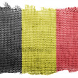 The Belgian flag — Stock Photo #23423030