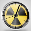 Nuclear radiation symbol painted on — Stock Photo #23423294