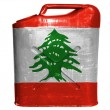 Lebanese flag — Stock Photo #23423382