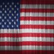 The USA flag — Stock Photo