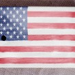 The USA flag — Stock Photo #23424420