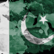 Pakistani flag — Stock Photo #23424460