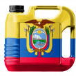 Ecuador flag — Stock Photo #23424558