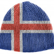 The Icelandic flag — Stock Photo #23426230