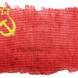 Stock Photo: USSR flag painted on