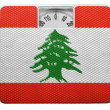 Lebanese flag — Stock Photo #23426668