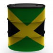 Stock Photo: Jamaica flag