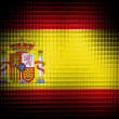 The Spanish flag — Stock Photo #23427640