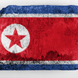 North Koreflag — Foto de stock #23427958