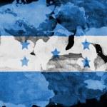 The Honduran flag — Stock Photo #23427988