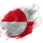 Постер, плакат: The Greenland flag