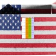 The USA flag - Foto Stock