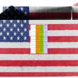 The USA flag - Stockfoto