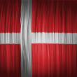 The Danish flag — Stock Photo #23428300