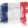 The French flag — Stock Photo #23429432