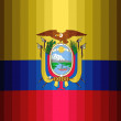 Ecuador flag — Stock Photo #23429446