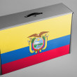 Ecuador flag — Stock Photo #23429466