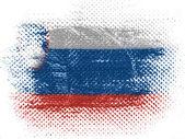 The Slovenia flag — Stock Photo