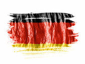 The German flag — Stock Photo