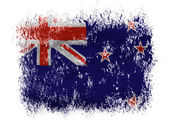 The New Zealand flag — Stock Photo
