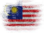 马来西亚国旗 — 图库照片