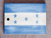 洪都拉斯国旗 — 图库照片