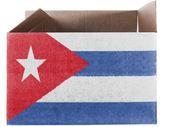 The Cuban flag — Photo