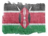 Kenya flag — Stock Photo
