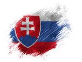 The Slovakia flag — Stock Photo