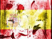 The Spanish flag — Foto de Stock