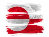 グリーンランドの旗 — ストック写真