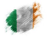 Le drapeau irlandais — Photo