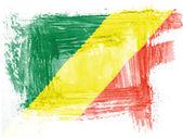 刚果民主共和国国旗 — 图库照片