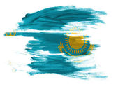 The Kazakh flag — Stock fotografie