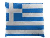 希腊国旗 — 图库照片
