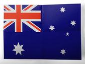 La bandera australiana — Foto de Stock