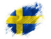 The Swedish flag — Stock Photo