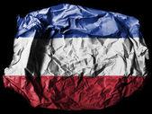 The Serbia and Montenegro flag — Foto de Stock