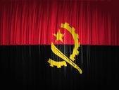 Angola. Angolan flag — Stock Photo